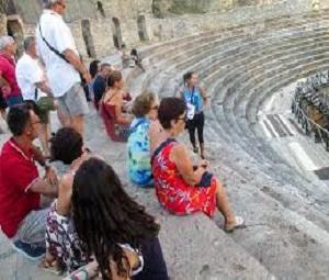 Deutsche Gruppe besucht Ohrid