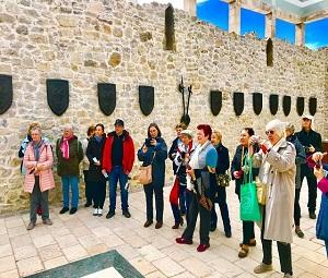 Ungarische Gruppe, Balkan Tour