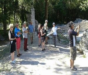 Gruppo finlandese, tour balcanico
