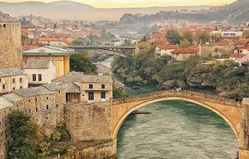 Bridge of Mostar, Bonia&Herezegovina