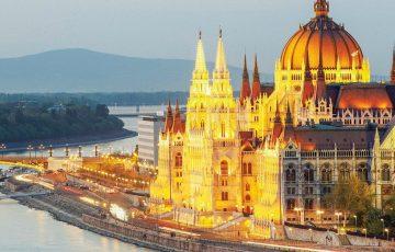 Danub River, Budapest, Hungary