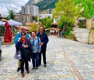 Croatian Guests, Balkan Tour